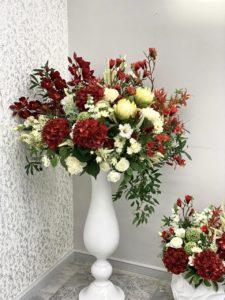 Искусственные цветы в декоре